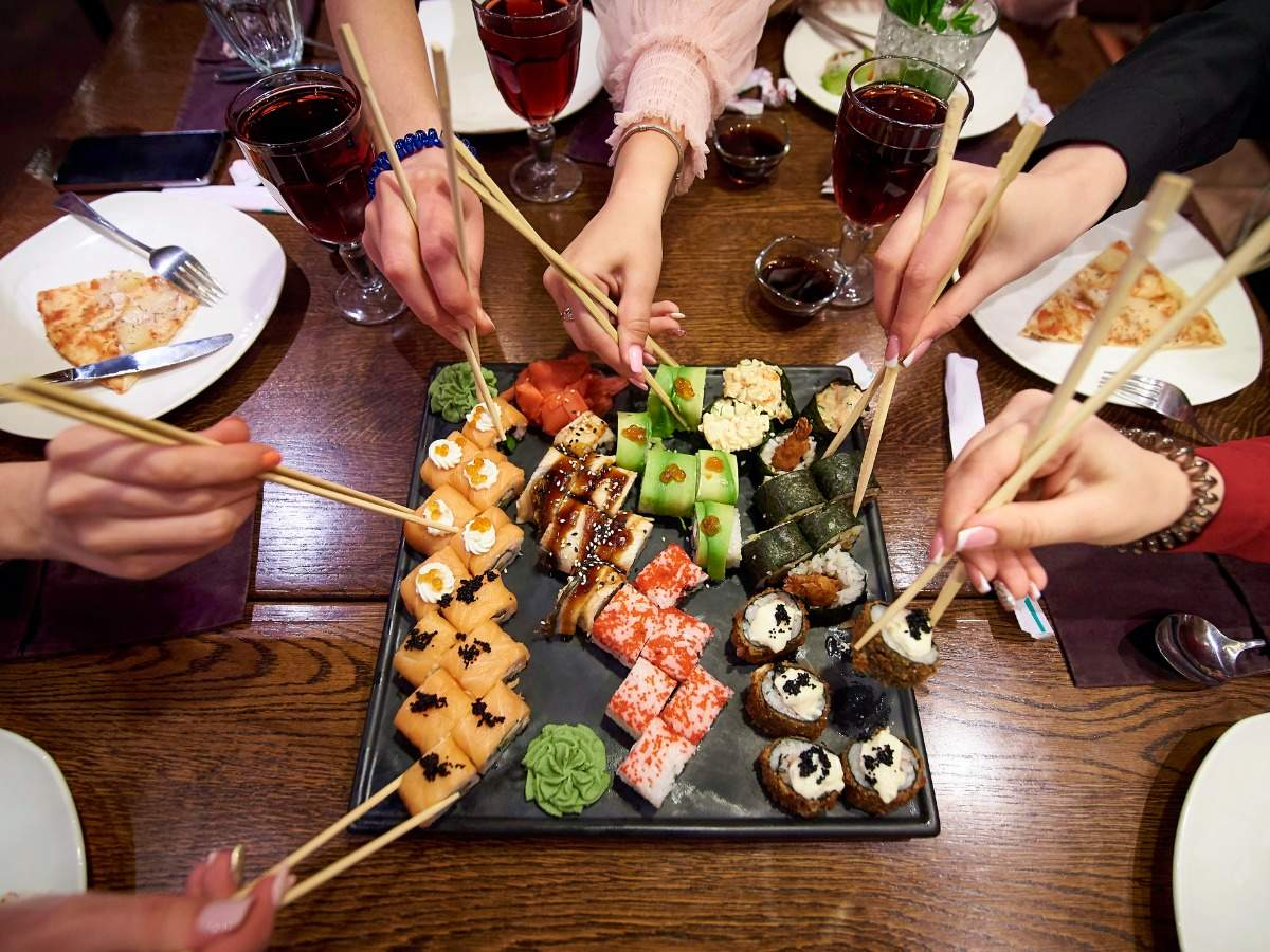 Unique food traditions followed in Japan