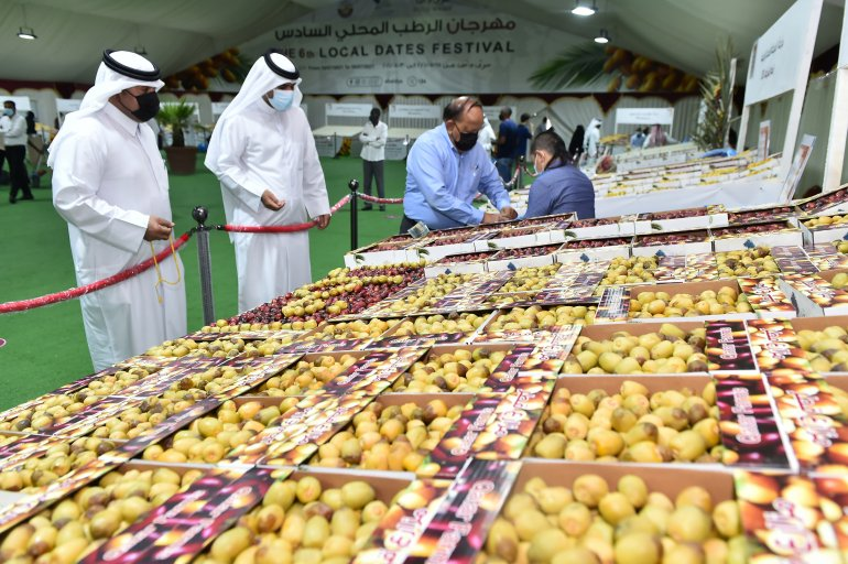 6th Dates Festival opens at Souq Waqif with 80 farms